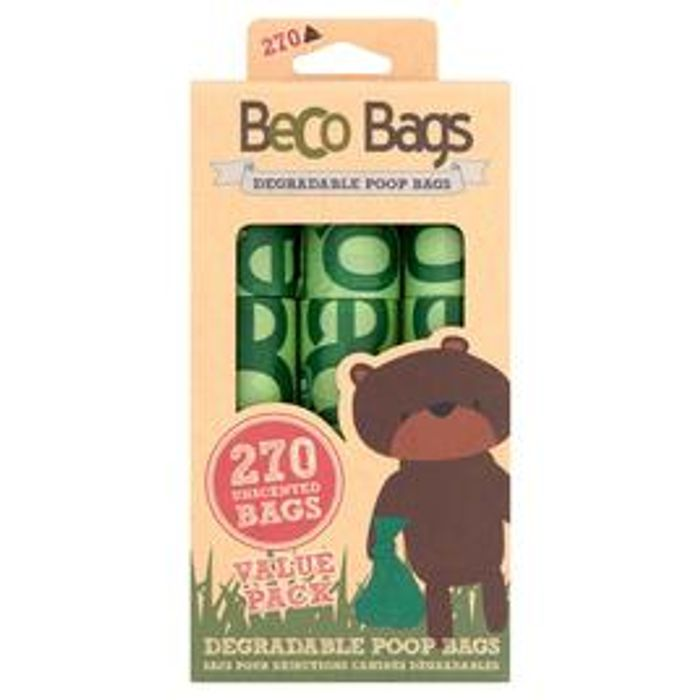 Beco Pets BecoBags Eco Friendly Dog Poop Bags