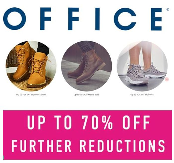 Shoes & Boots GOING CHEAP! Office Sale Further Reductions - up to 70% OFF