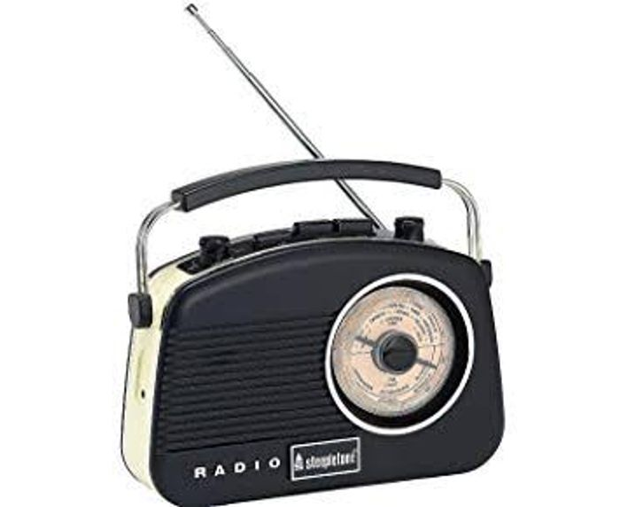 Cheap Baby Brighton Retro Radio Black at JD Williams, reduced by £115!