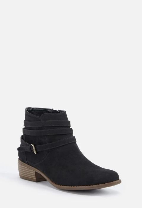 Roca Strap & Buckle Ankle Boot