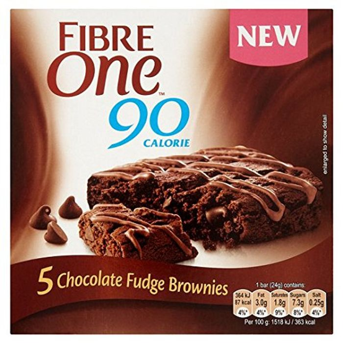 Fibre One 90 Calorie Chocolate Fudge Brownie Bars 5 Pack