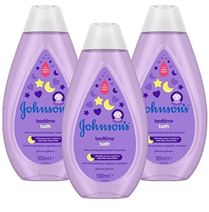 Best Ever Price! JOHNSON'S Bedtime Bath Multipack 3 X 500 Ml