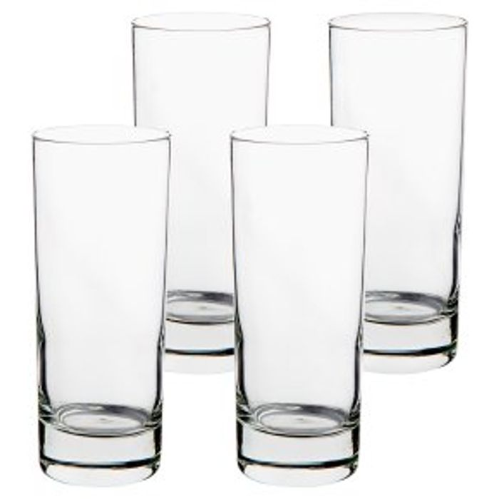 Essential Waitrose Hi-Ball Tumblers 4s