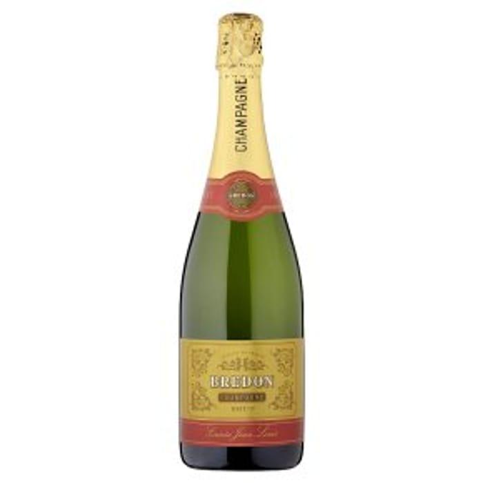 Bredon Cuve Jean Louis Brut NV, French, Champagne75cl