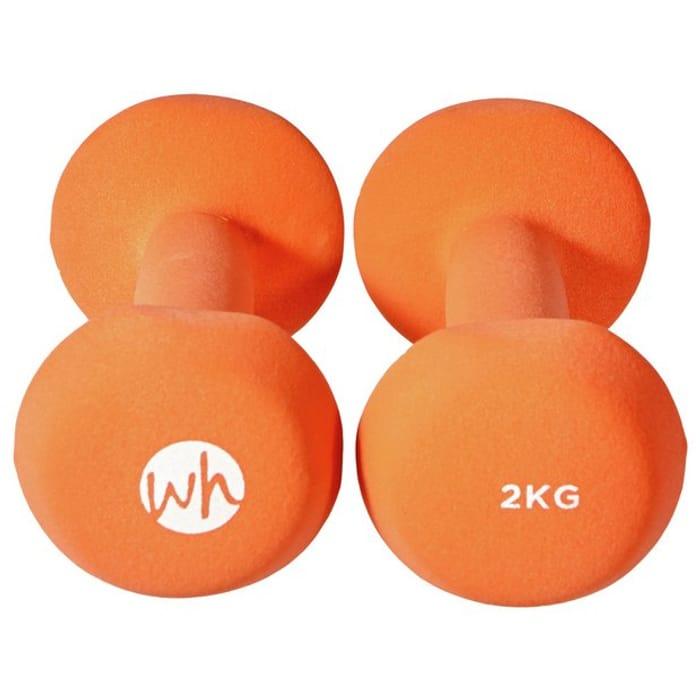 Women's Health Neoprene Dumbbell Set - 2 X 2kg
