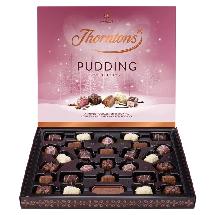 Pudding Christmas Collection (373g) at Thorntons - Only £4!