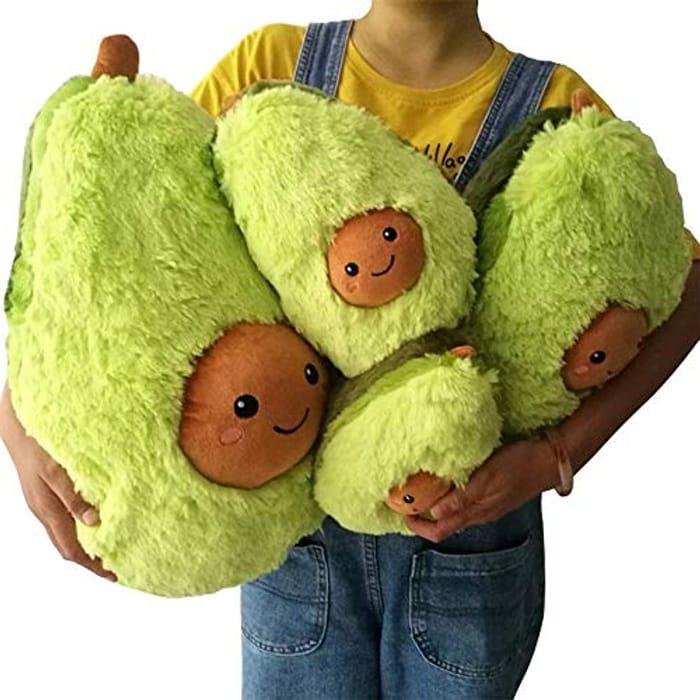 Cute Stuffed Avocado Toy Kids Soft Plush