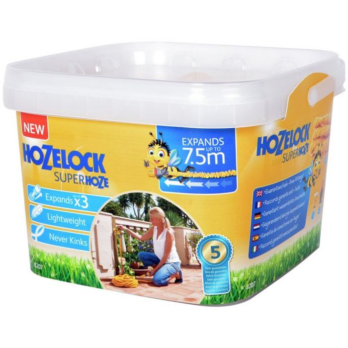 Hozelock Expandable Superhoze - 7.5m - HALF PRICE!