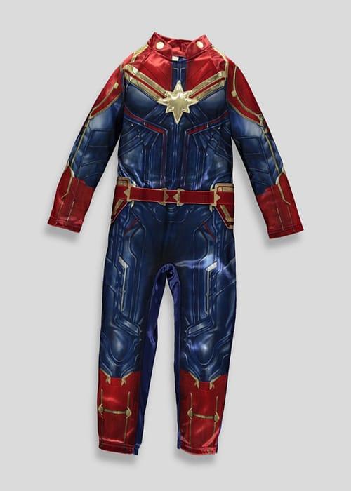 Kids Captain Marvel Fancy Dress Costume Only £5