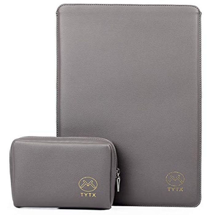 TYTX Leather Laptop Sleeve 13 Inch MacBook Air/Pro Protective Cover Case