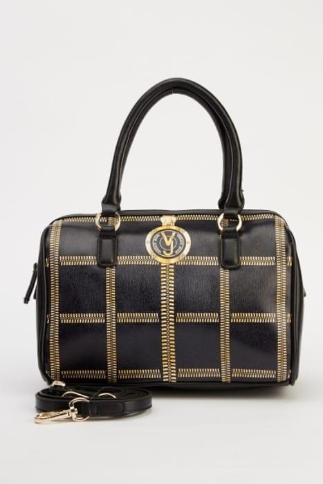 Cheap Versace Jeans E1VMBBV6 Printed Box Bag, reduced by £145!