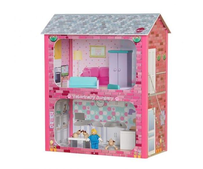 Plum Camden Court Wooden Dolls House -save £8