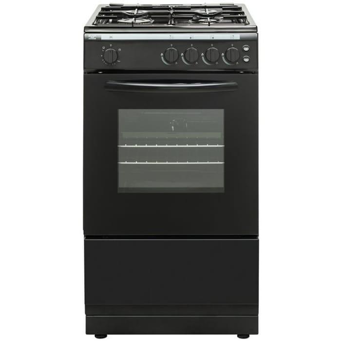 Bush AG56SB 50cm Single Oven Gas Cooker (Black) - Save £20!