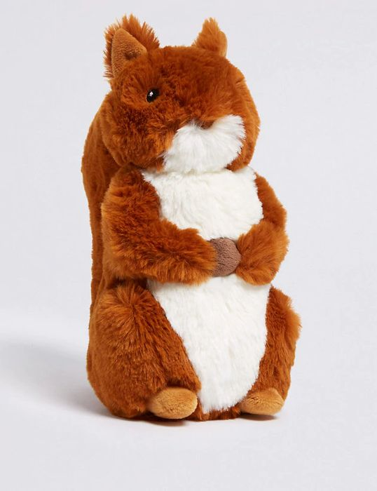 *SAVE £11* Peter Rabbit Squirrel Nutkin Soft Toy FREE C&C