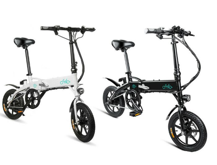 Fiido D1 Folding Electric City Bike Bicycle Moped E Bike 10 4ah 250w Bike 14inch 379 99 At Ebay Latestdeals Co Uk