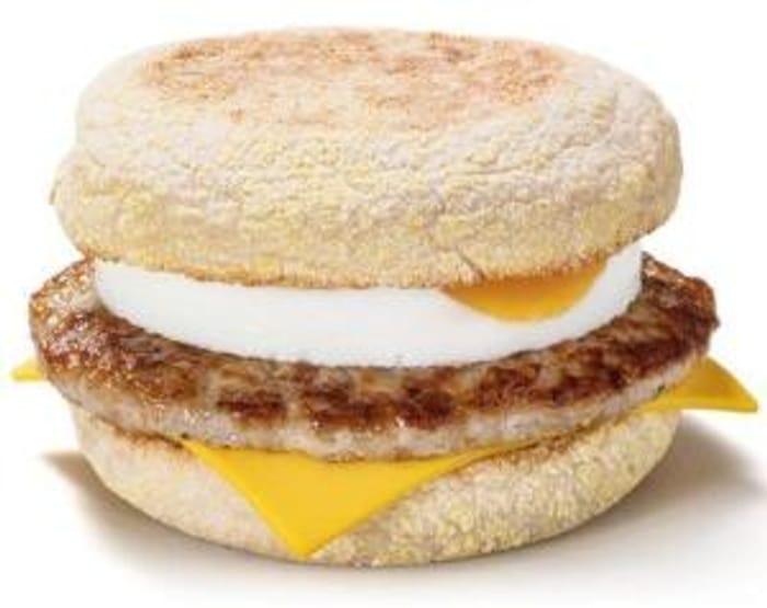 Free McDonald's McMuffin with McDonald's App 5 Jan