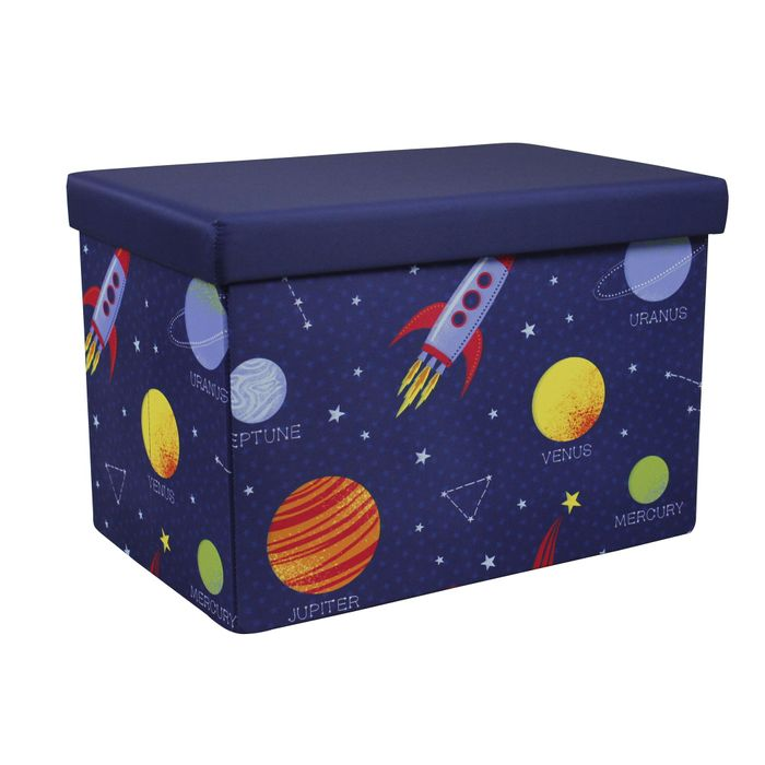 Space Storage Ottoman Box 2 Designs - HALF PRICE!