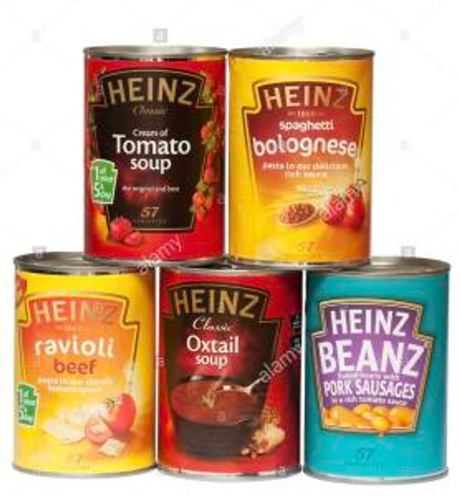 Heinz Tins down to 50p at Morrisons Nationwide