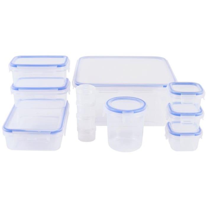 Argos Home Klip Lock Muti Pack Storage Set - 12 Piece - HALF PRICE!