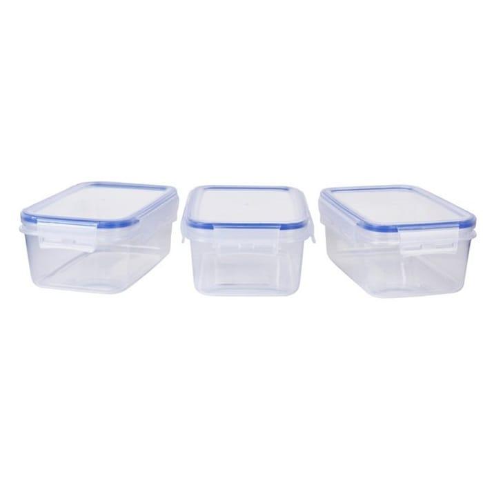 Argos Home Klip Lock Storage Set - 3 Pack - HALF PRICE!