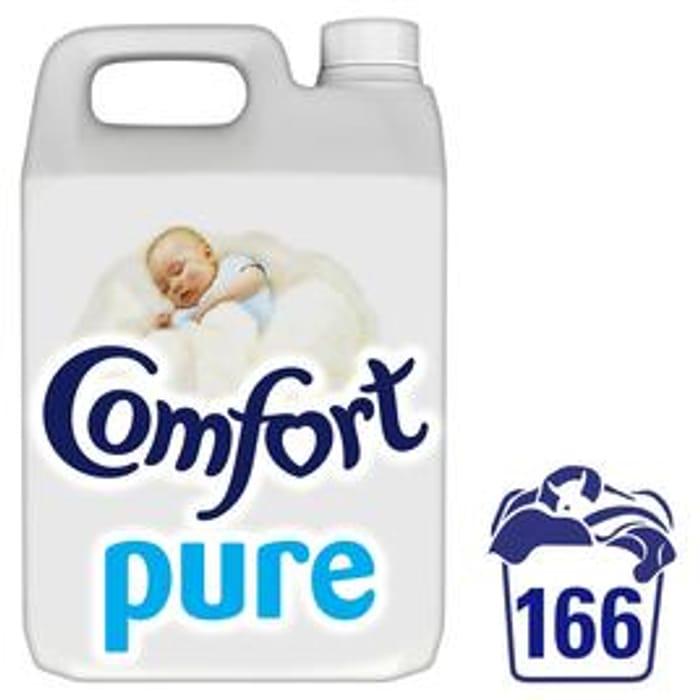 Comfort Pure Fabric Conditioner 166 Wash