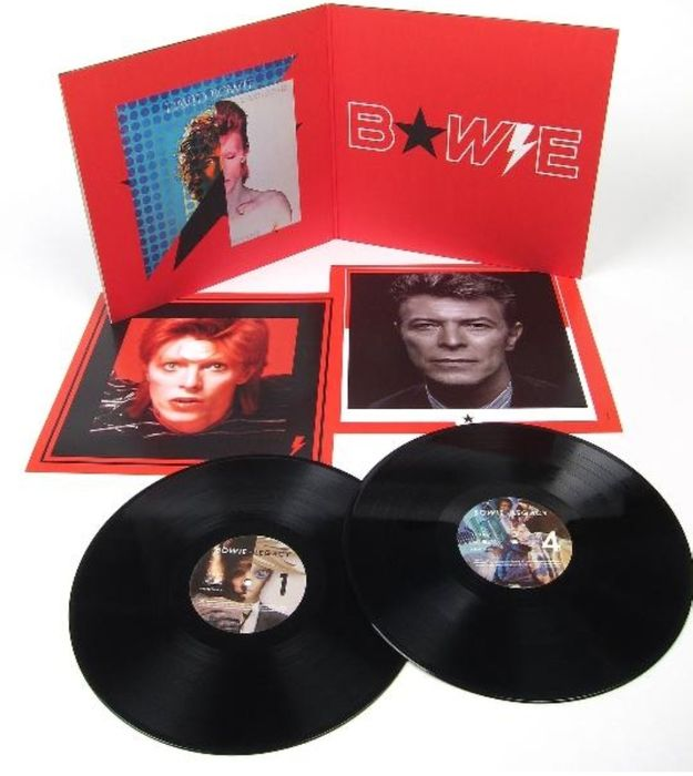 Win 'Legacy: The Very Best of Bowie Vinyl Edition!
