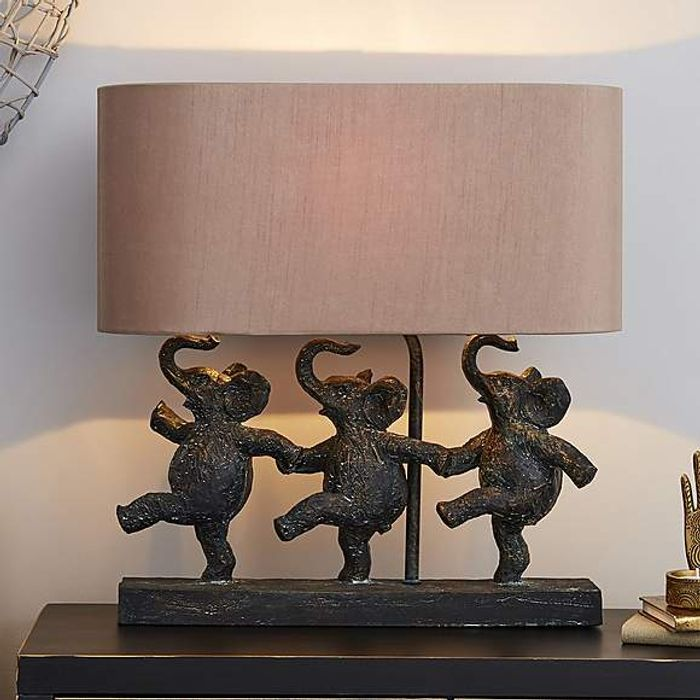 Ella Elephants Table Lamp on Sale From £45 to £36
