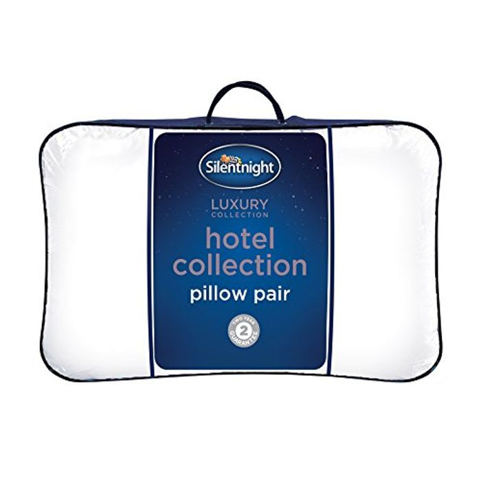 Best Price! Silentnight Hotel Collection Pillow-Pack of 2 £12 at Amazon