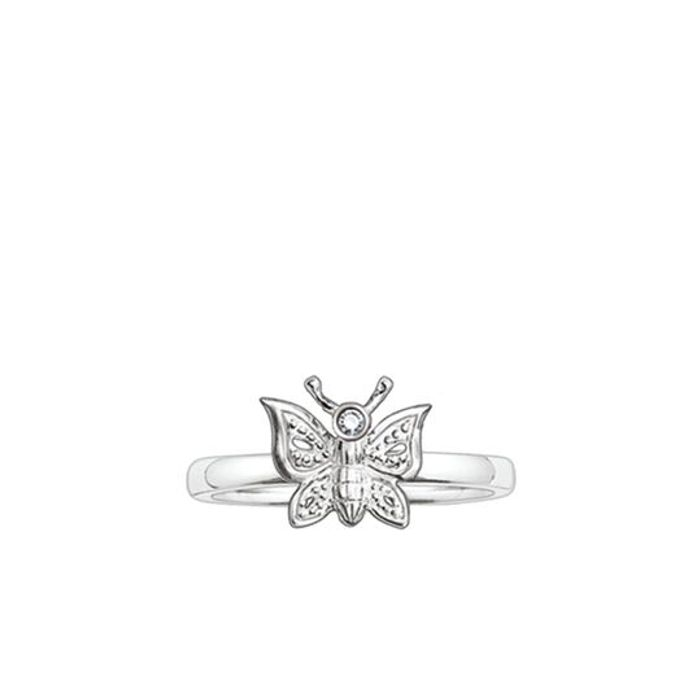 Best Price! Thomas Sabo Diamond Butterfly Ring