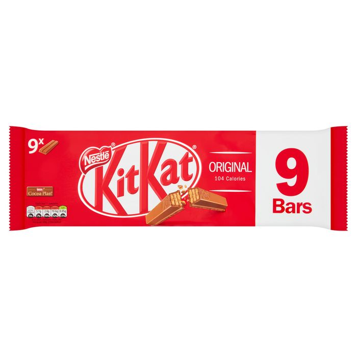 Kit Kat 2 Fingers Various Flavours, £1 for a Pack of 9 at Tesco
