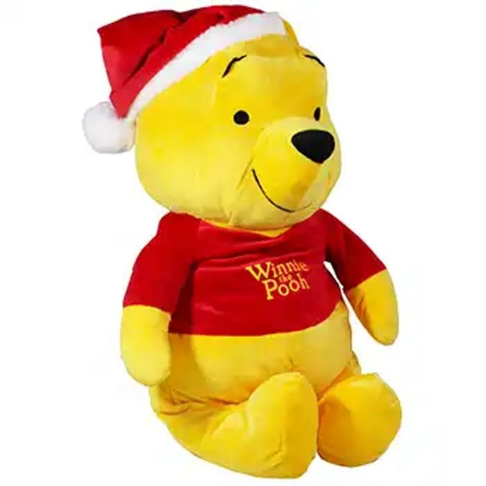 Giant Christmas Winnie the Pooh Plush Soft Toy C&c