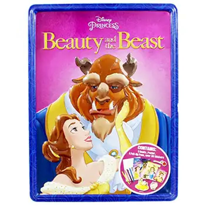Cheap Disney Princess Beauty and the Beast Activity Tin - 79% Off