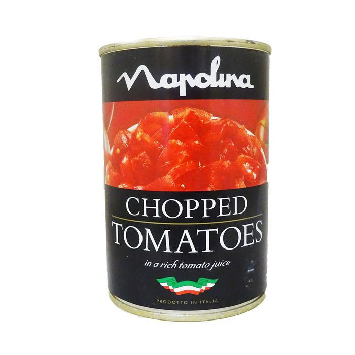 Napolina Chopped Tomatoes in a Rich Tomato Juice