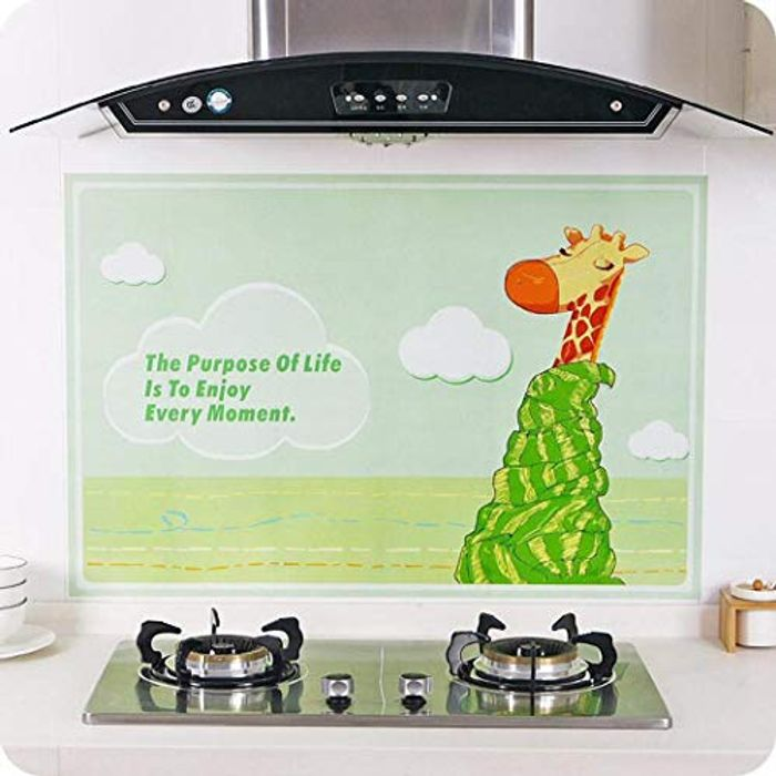 90 X 60 Cm Kitchen Oil Proof Wall Sticker 80% off + Free Delivery