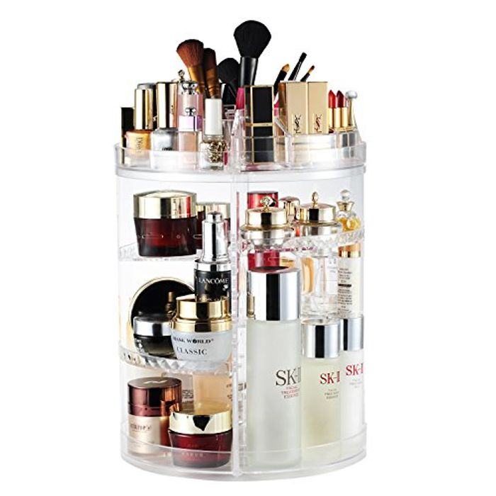 Makeup Organiser, 360 Degree Rotating
