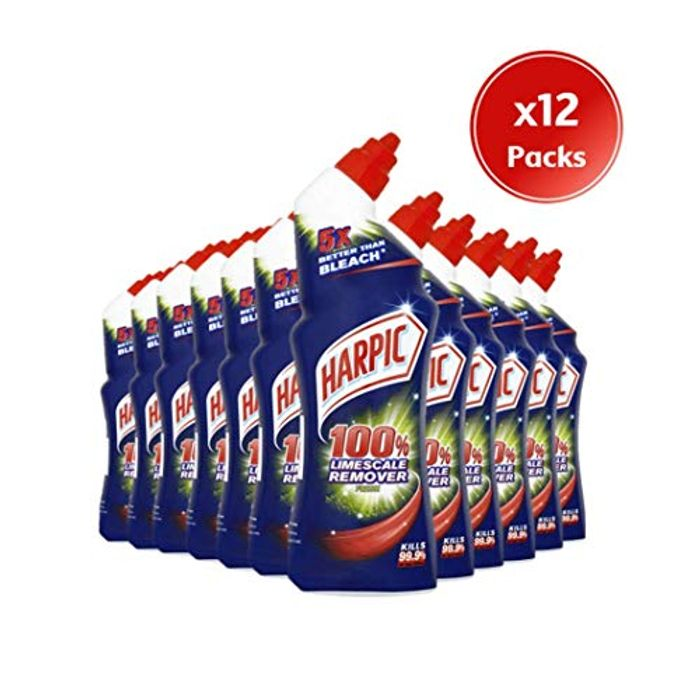 Best Ever Price! Harpic Limescale Remover Fresh 750 Ml (Pack of 12)