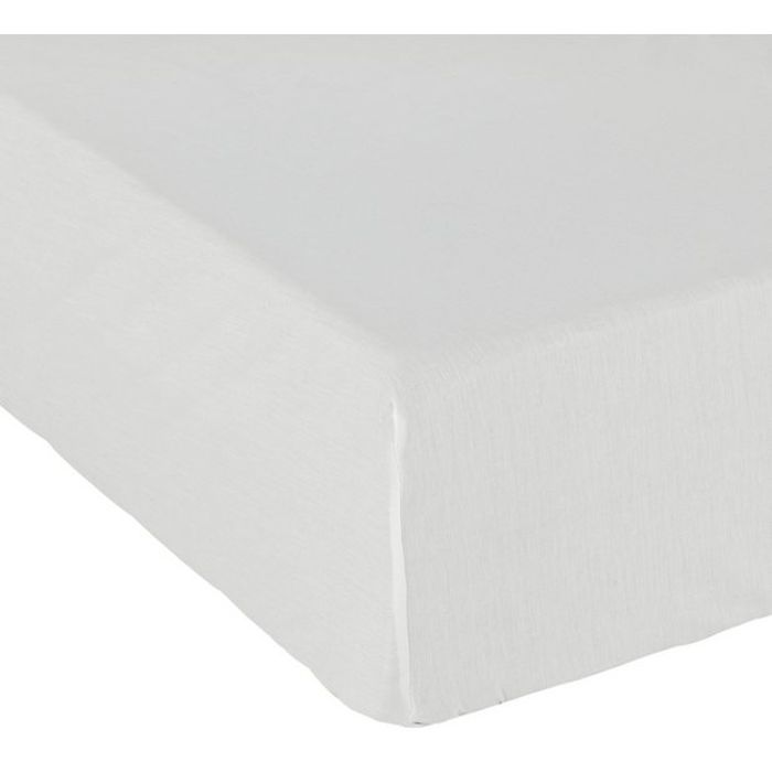 Argos Home Cotton Rich 28cm Fitted Sheet (Kingsize) - HALF PRICE!