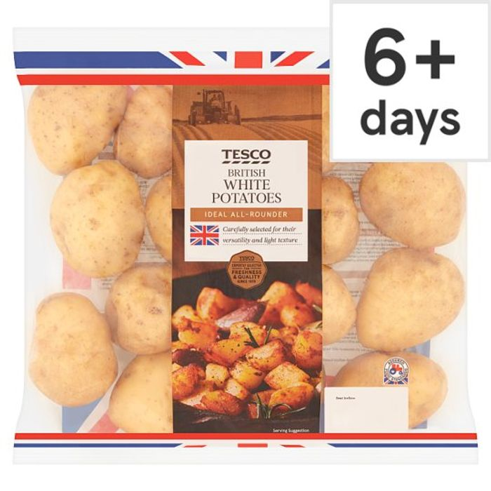 White Potatoes 2.5Kg Pack - Save £0.32!