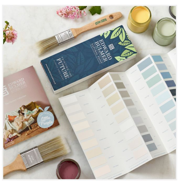 Get A Colour Chart From Edward Bulmer Paint FREE BY POST