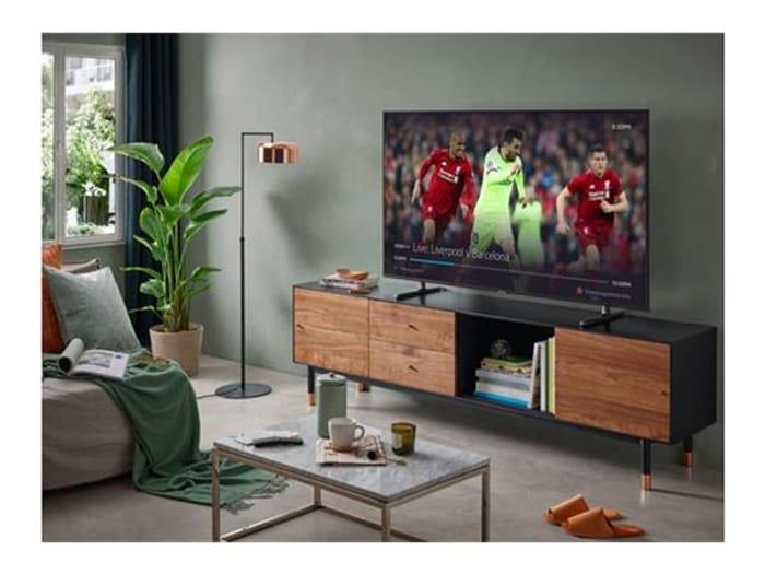 "Samsung 55"" Dynamic Crystal Colour Smart 4K TV + FREE JBL Soundbar - Save £130!"