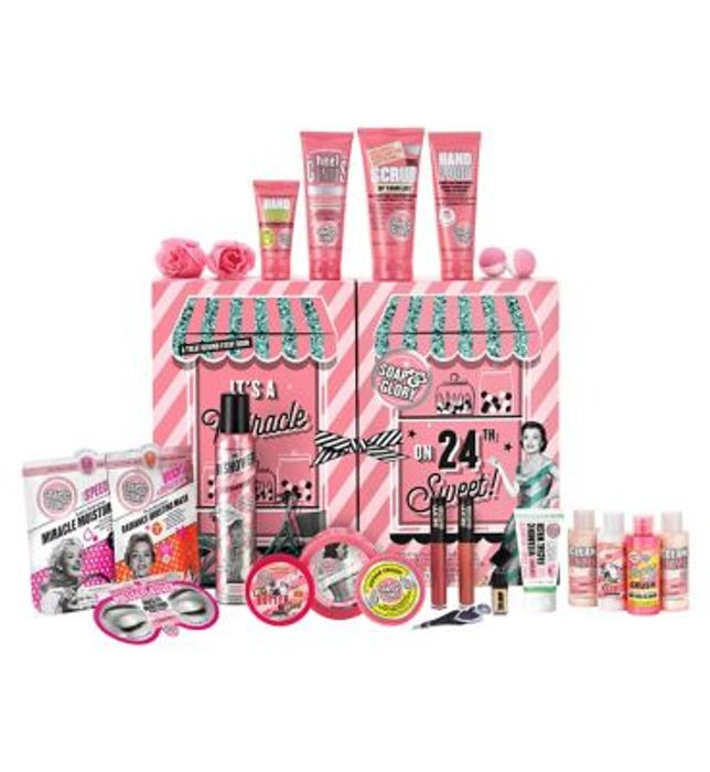 Soap & Glory Miracle on 24th Sweet Advent Calendar - NOW HALF PRICE!