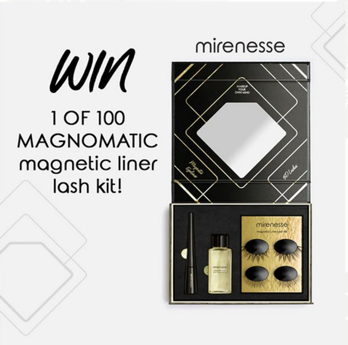 Win a Mirenesse Magnomatic Magnetic Lash Liner Kits!