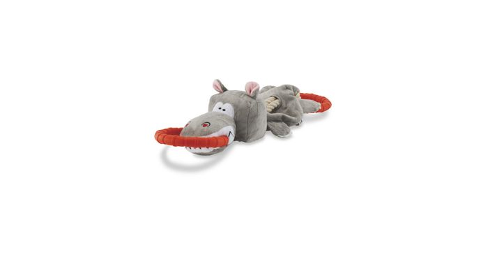 Hippo Deluxe Dog Tug Toy - Save £2!