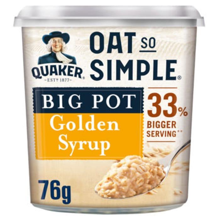 Oat so Simple Porridge Pot 76g - Save £0.69!