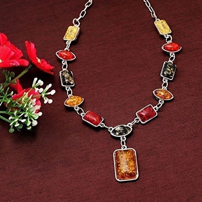 African Amber Jewellry Set