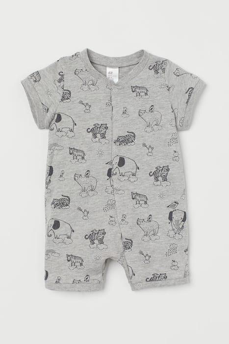 Baby Patterned Cotton Pyjamas