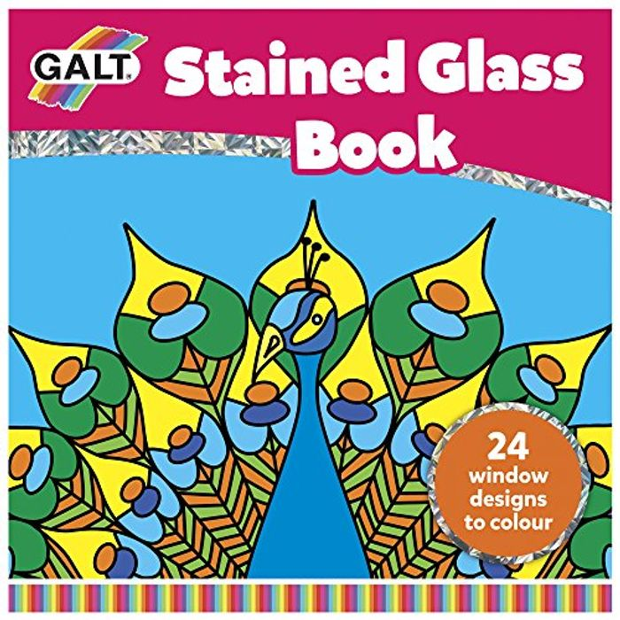 Galt Toys Stained Glass Book