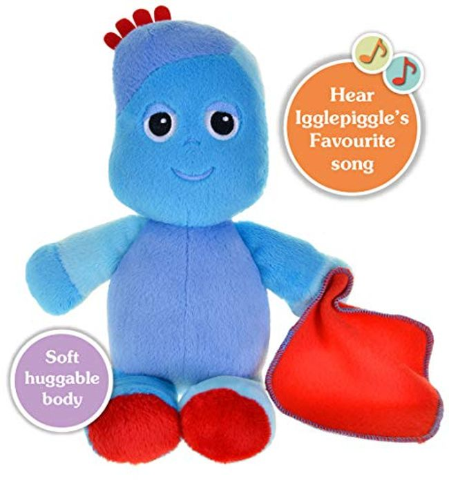 £6 off at AMAZON! in the Night Garden Singing Iggle Piggle Soft Toy, 29cm
