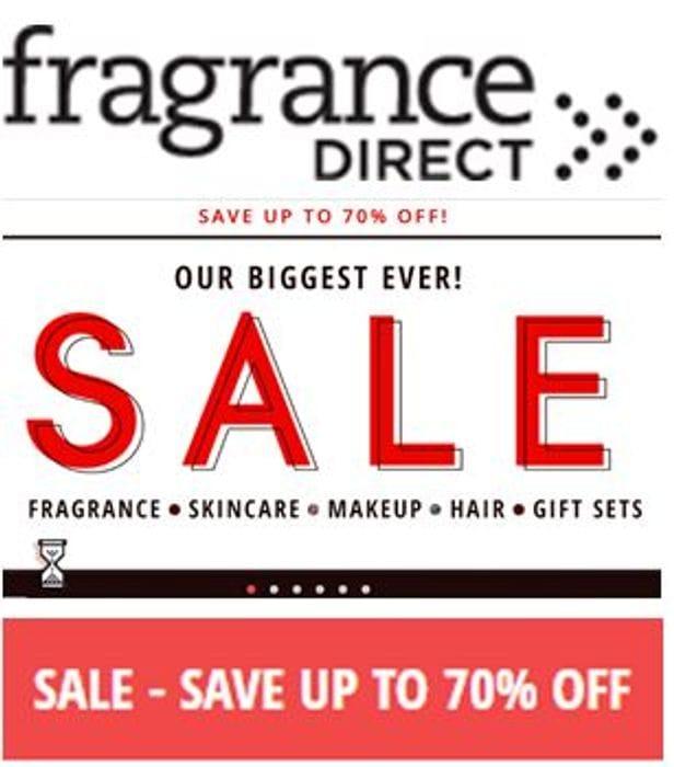 Special Offer - Fragrance Direct BIGGEST EVER JANUARY SALE - Fragrance, Make-Up