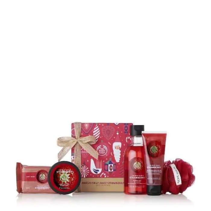 Irresistibly Juicy Strawberry Festive Gift Set